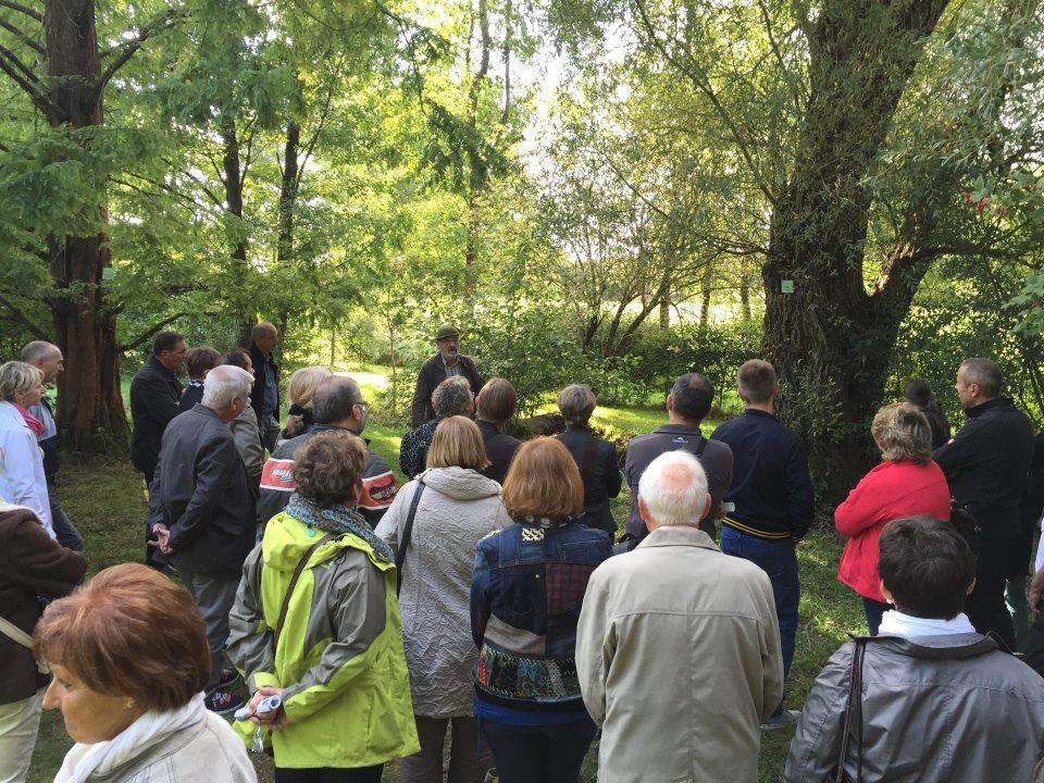 Jacques, guide à l'Arboretum